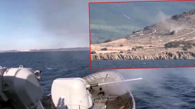 Son dakika haberi: MSB: Saros Körfezi'nde silah eğitimleri icra edildi