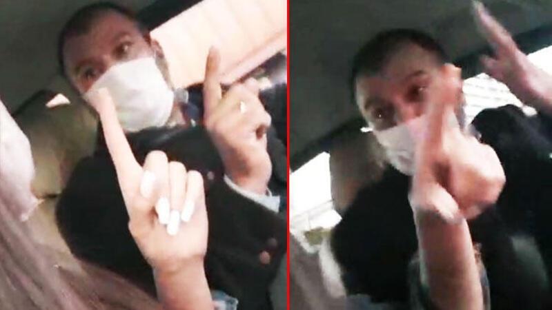 Taksiciden kadın müşteriye şok tehdit: Seni gebertirim kadın
