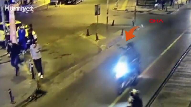 Güngören'de tribün liderinin öldürüldüğü silahlı saldırı kamerada