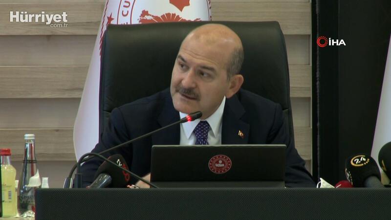 Bakan Soylu, AFAD Kurulu Toplantısı'nda konuştu