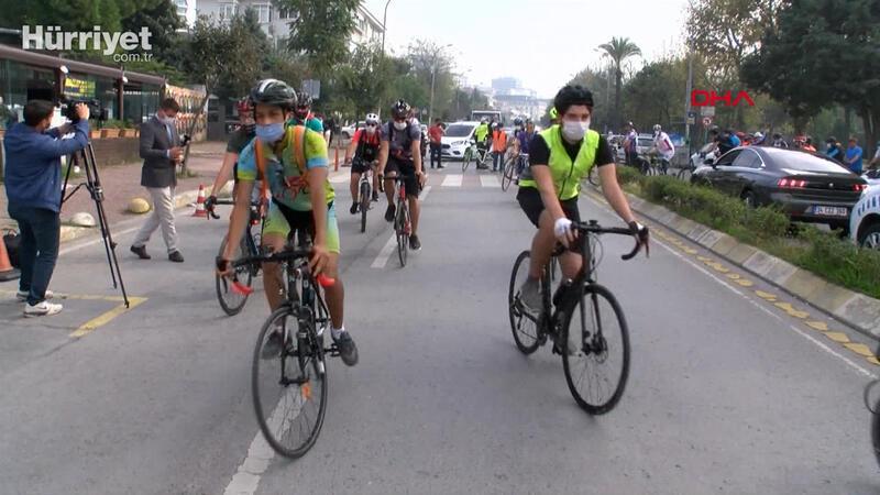 Kadıköy'de bisikletli ölümlerine karşı eylem