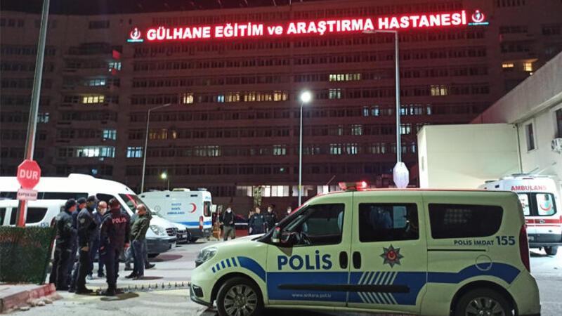 İntihar eden gencin yakınları, hastaneyi ve polisi taş yağmuruna tuttu