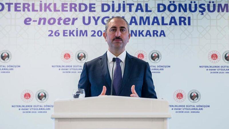 Son dakika... Adalet Bakanı Gül açıkladı! Noterlik için önemli hazırlık...