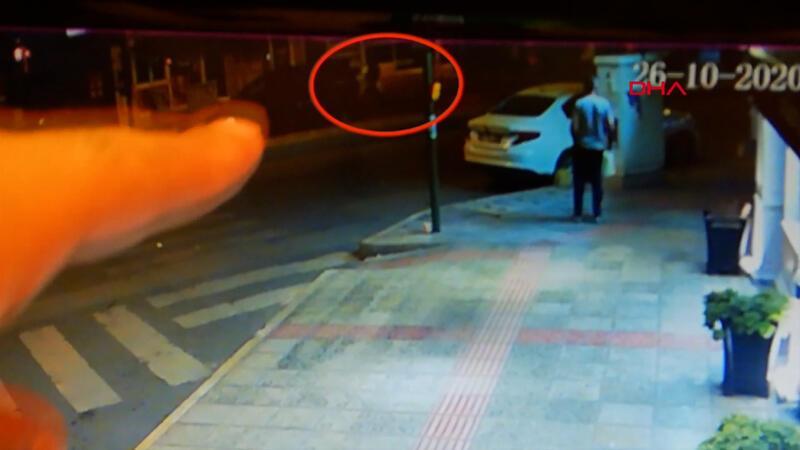 İskenderun'da etkisiz hale getirilen teröristin kaçma anı kamerada
