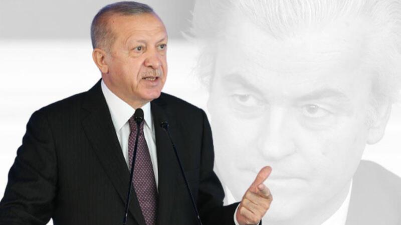Son dakika... Cumhurbaşkanı Erdoğan'dan Wilders hakkında suç duyurusu