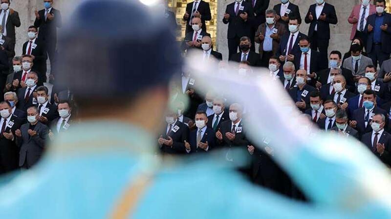 Eski Sağlık Bakanı Osman Durmuş için TBMM'de tören