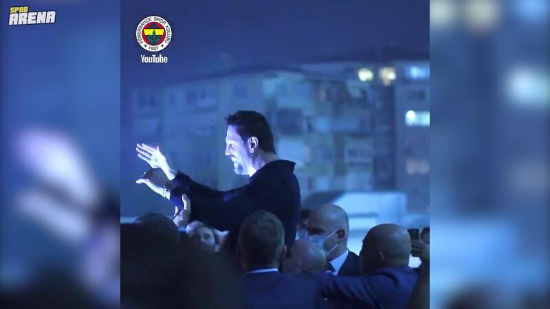 Fenerbahçe, Trabzonspor maçı taraftarla buluşma görüntülerini paylaştı