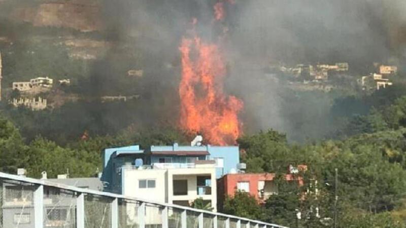 Hatay'da bir orman yangını daha
