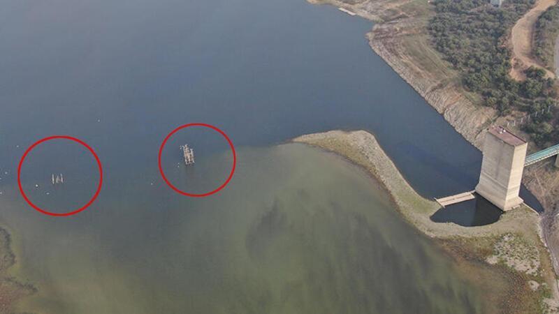 Son dakika haberleri... İstanbul barajları kritik seviyede! Tedirgin eden görüntü