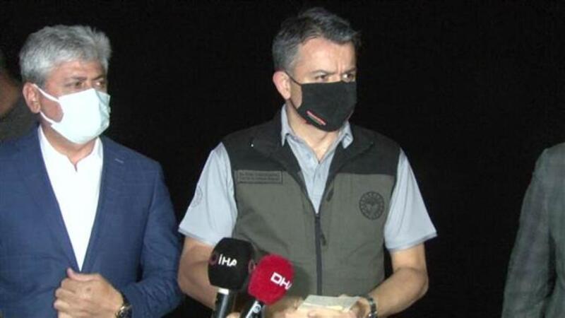 Bakan Pakdemirli, Hatay'daki orman yangını ile ilgili açıklamalarda bulundu