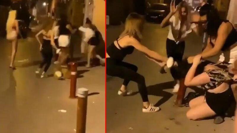 Görüntüler İzmir'den... Trans bireyler öldüresiye dövdü