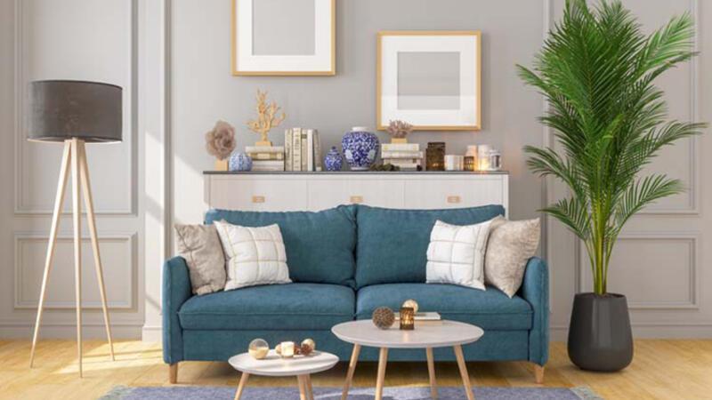 Küçük oturma odasını daha geniş göstermenin yolları