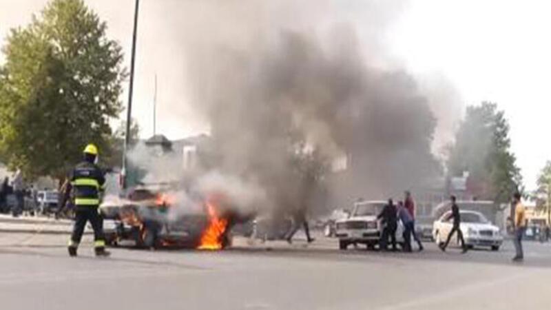 Son dakika... Ermenistan, Berde şehir merkezini vurdu