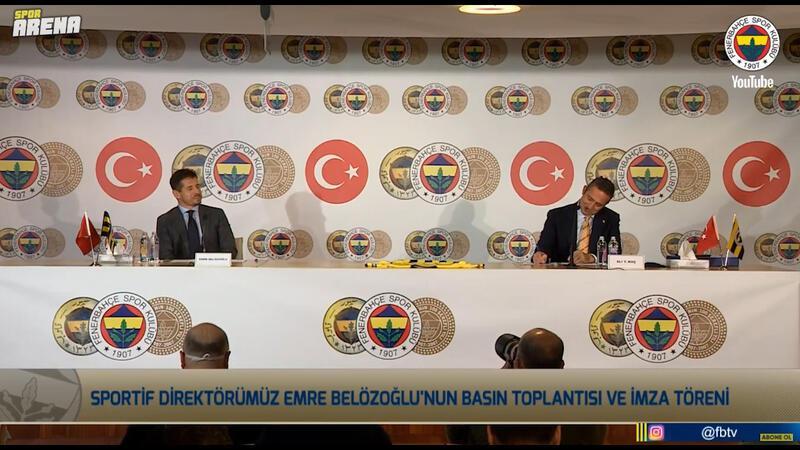 Emre Belözoğlu: Sıfır kilometre bir sportif direktör var sabrın sürekli olması gerekiyor