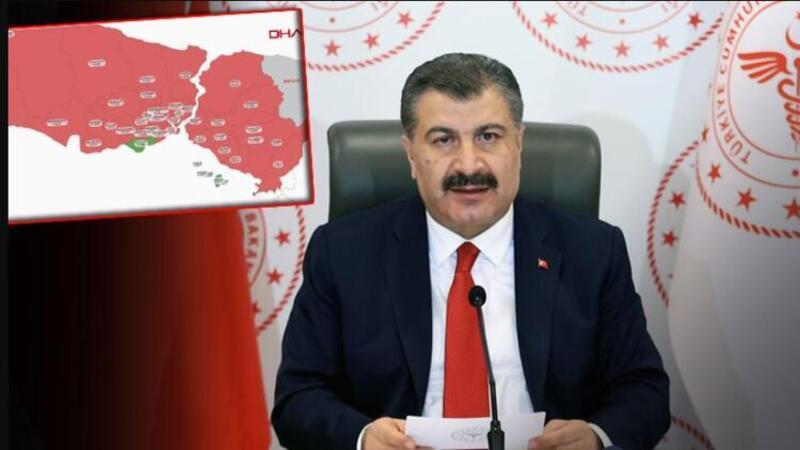 Sağlık Bakanı Fahrettin Koca, İstanbul'da Bilim Kurulu toplantısı sonrası açıklamalarda bulundu
