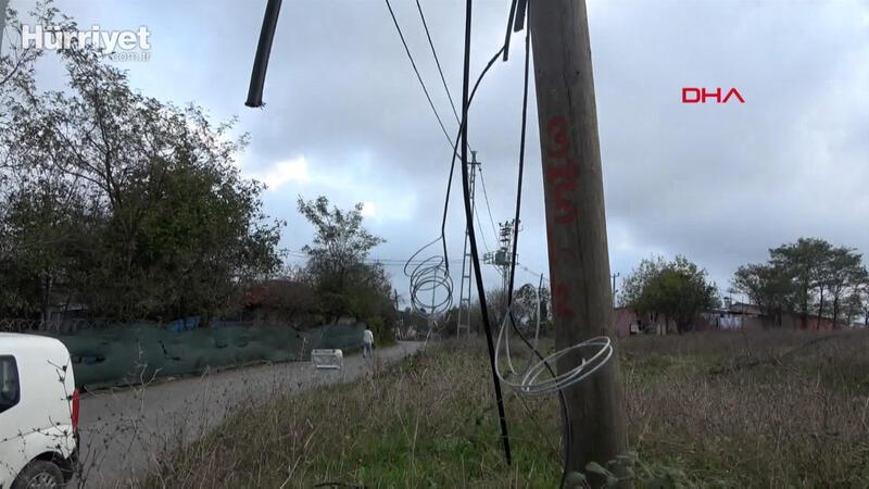 Sultangazi'de kablolar çalındığı için öğrenciler uzaktan eğitim alamıyor