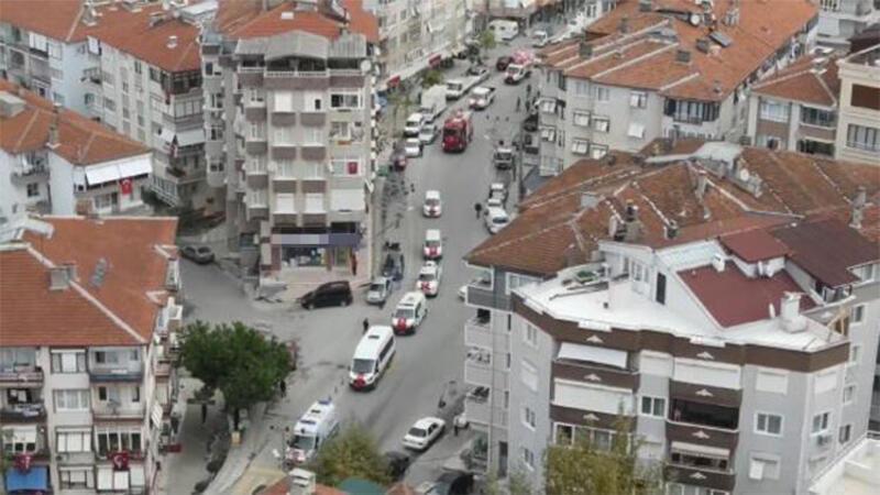 Çınarcık'ta 77 araçlık 'cumhuriyet' konvoyu