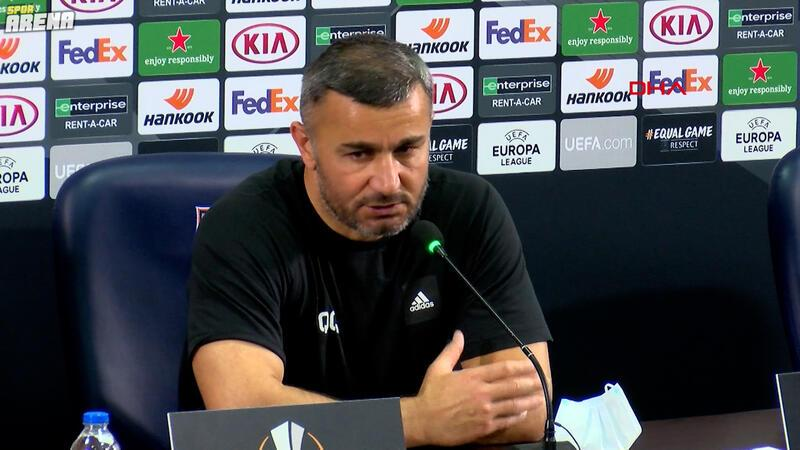 Kurbanov: Düşündüğümüz oyunu oynamaya çalıştık ama Villarreal...'