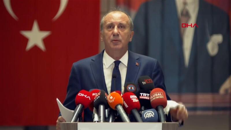Muharrem İnce İstanbul'da ekibini tanıttı