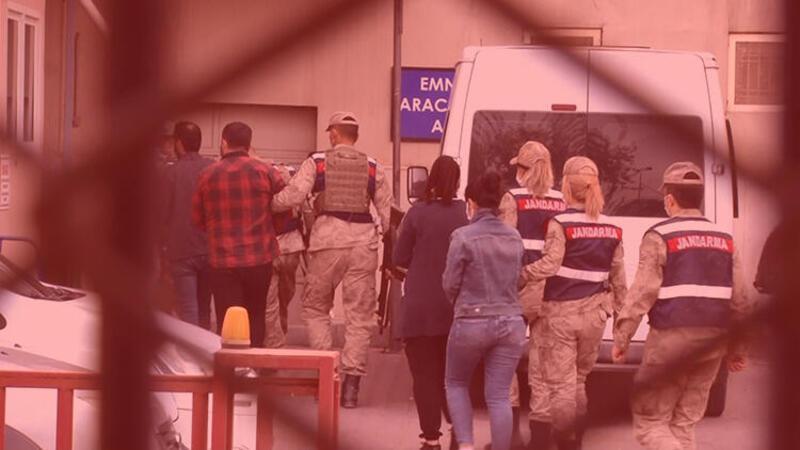 Terör örgütü PKK'nin gizli şehir yapılanması kadrosundaki 5 kişi yakalandı