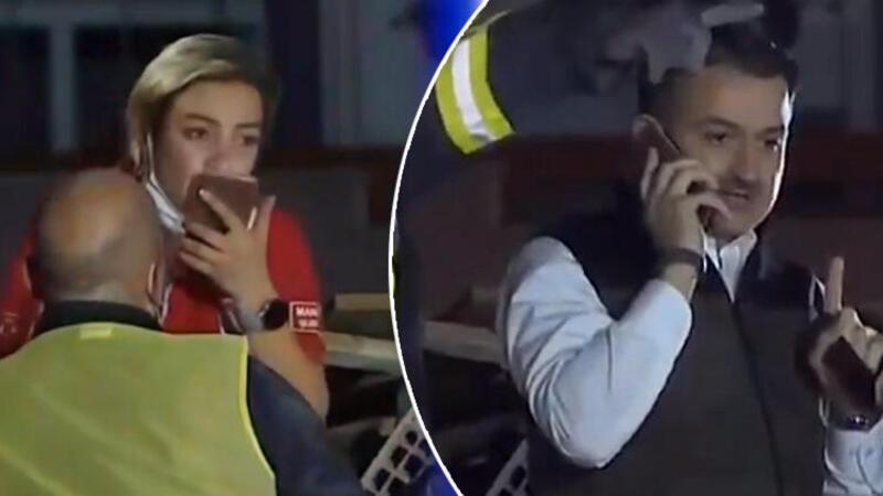 Bakan Bekir Pakdemirli, enkaz altında kalan yaralı vatandaşla telefonda konuştu