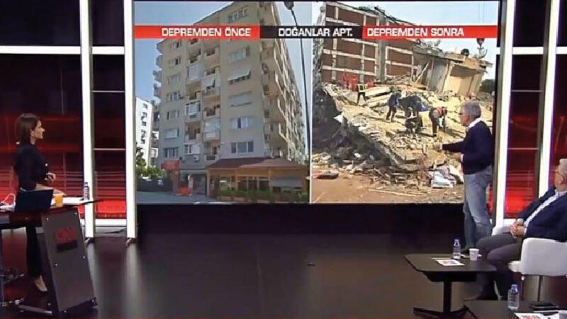 Prof. Dr. Sucuoğlu depremde yıkılan binaya ilişkin ayrıntıları aktardı