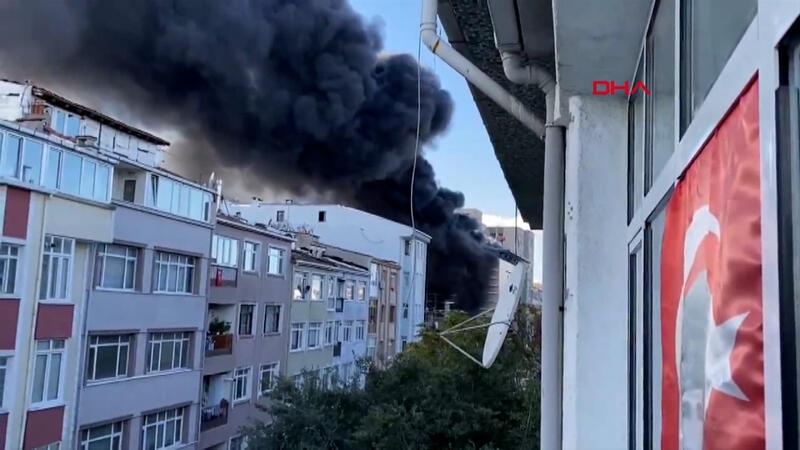 Son dakika... İstanbul Üniversitesi Çapa Tıp Fakültesi Hastanesi inşaatında yangın!