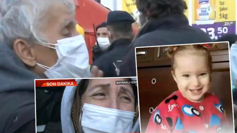 Son dakika.... İzmir'deki depremden bir mucize haberi daha: 3 yaşındaki Elif bebek enkazdan sağ çıkarıldı