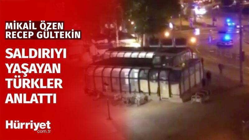 Viyana'daki Terör Saldırısına Şahit Olan Türkler Yaşadıklarını Anlattı...