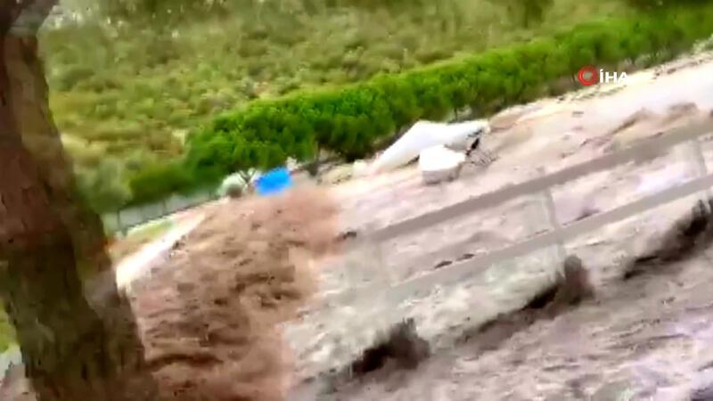 İzmir'de yaşanan tsunaminin yeni dehşet görüntüleri ortaya çıktı