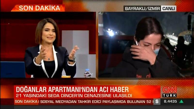 Spiker de muhabir de gözyaşlarını tutamadı
