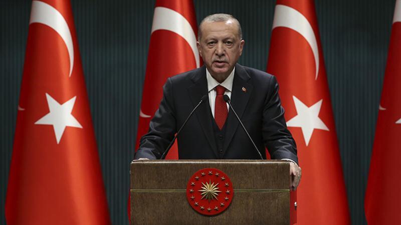 Cumhurbaşkanı Erdoğan koronavirüste yeni önlemleri açıkladı