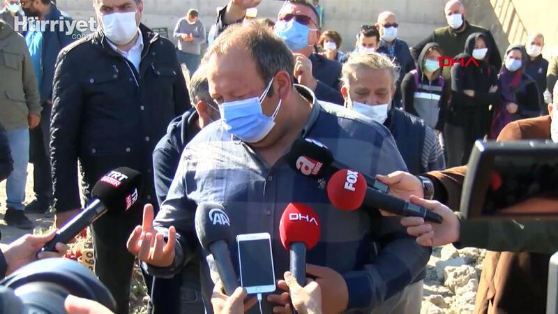 Ayda'nın babası, Fidan Gezgin'in mezarı başında açıklamalarda bulundu