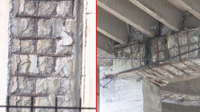 15 Temmuz Demokrasi Otogarı kolonlarında korkutan görüntü
