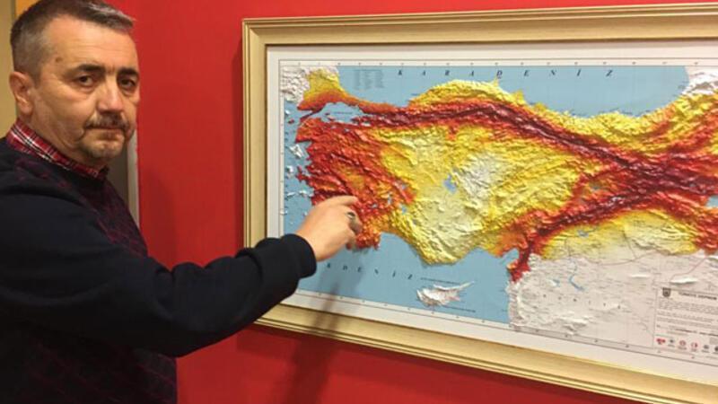 Prof. Dr. Oruç'tan, Kuzey Anadolu fay hattının güney kolu için uyarı