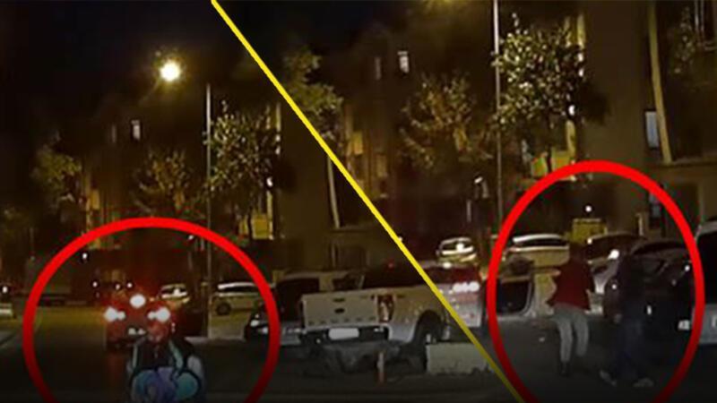 3 yaşındaki çocuk, seyir halindeki otomobilden düştü