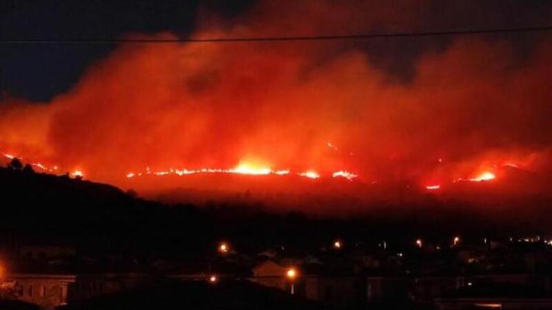 Son dakika... İzmir'de yangın