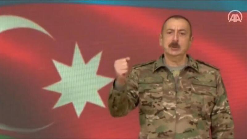 Azerbaycan Şuşa kentini işgalden kurtardı