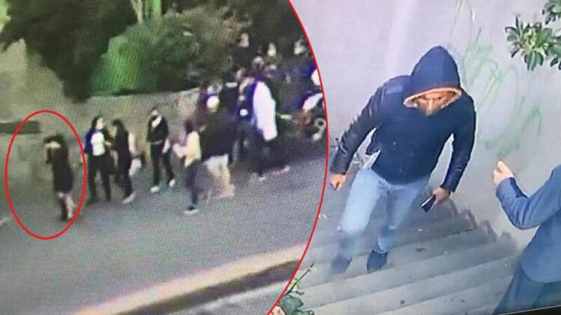 Şişli'de kadına taciz ve kapkaç şüphelisini vatandaşlar kovaladı