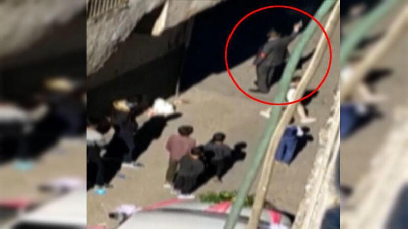 Düğünde havaya ateş açan 2 maganda önce kameraya sonra polise yakalandı