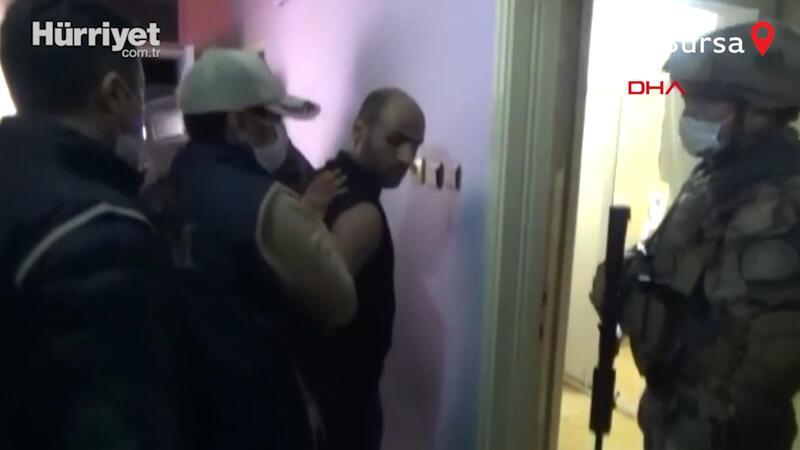 Bursa'da DEAŞ operasyonu: 11 gözaltı