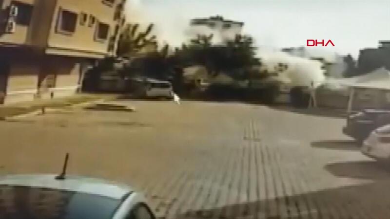 Yağcıoğlu Apartmanı'nın depremde yıkılma anlarına dair yeni görüntüler ortaya çıktı