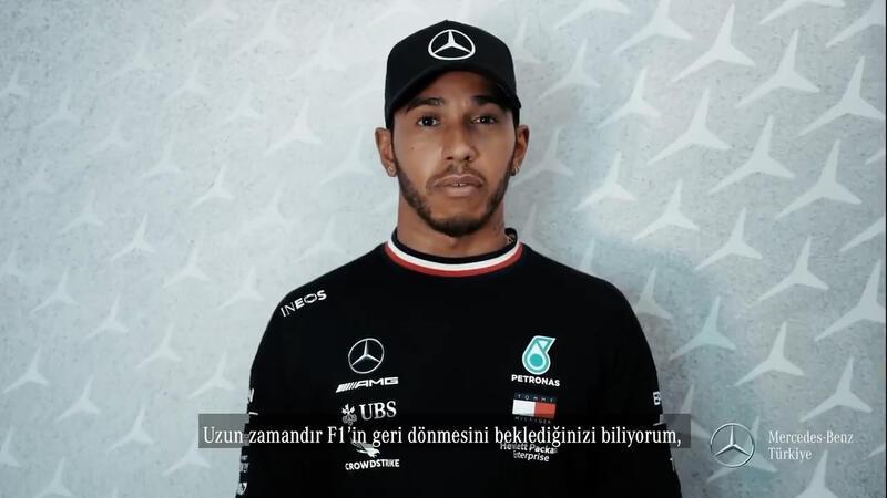 Lewis Hamilton'dan Türkiye'deki Formula 1 tutkunlarına mesaj!
