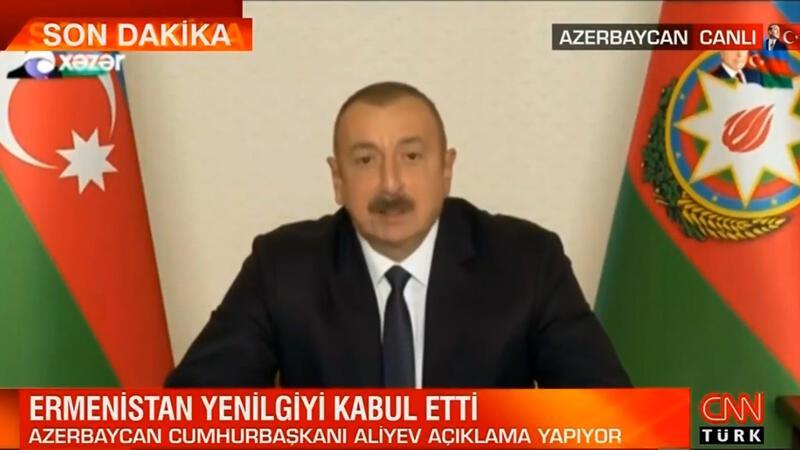 Azerbaycan Devlet Başkanı İlham Aliyev açıklamalarda bulundu