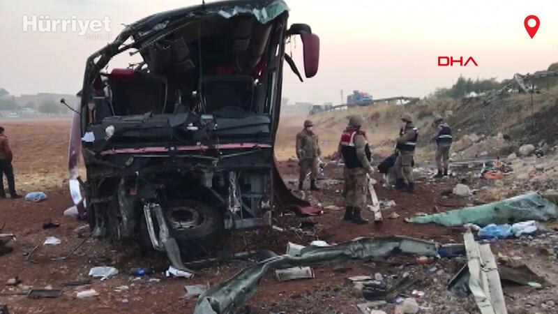 Samsun'a yolcu taşıyan Irak plakalı yolcu otobüsü devrildi