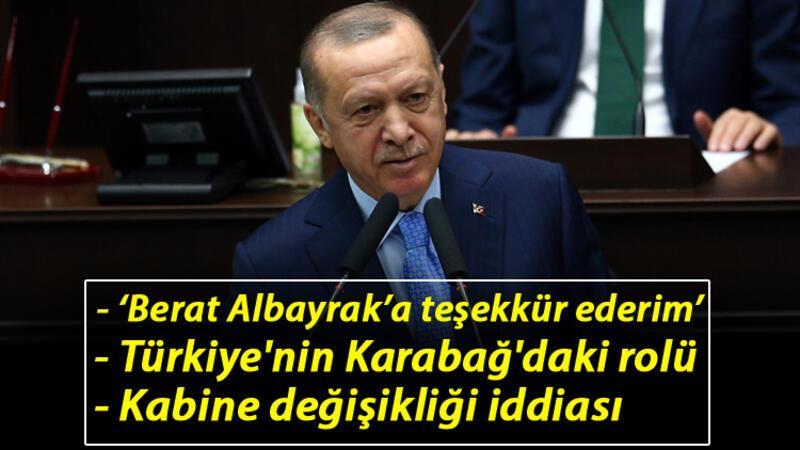 Cumhurbaşkanı Erdoğan: Berat Albayrak'a teşekkür ederim