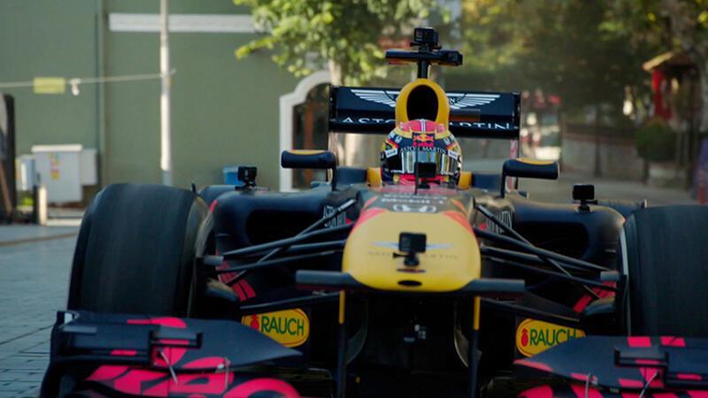 İstanbul tanıtımı için Formula 1 pilotlarıyla film çekimi gerçekleştirildi