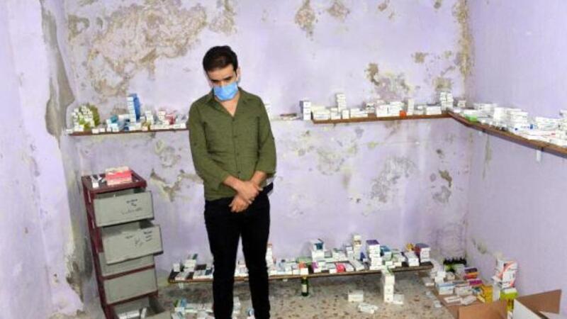 Kahramanmaraş'ta kaçak klinik işleten Suriyeli 7 doktor, adliyede