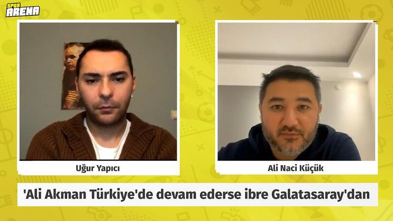'Ali Akman Türkiye'de devam ederse ibre G.Saray olur F.Bahçe'nin çok şansı yok!'
