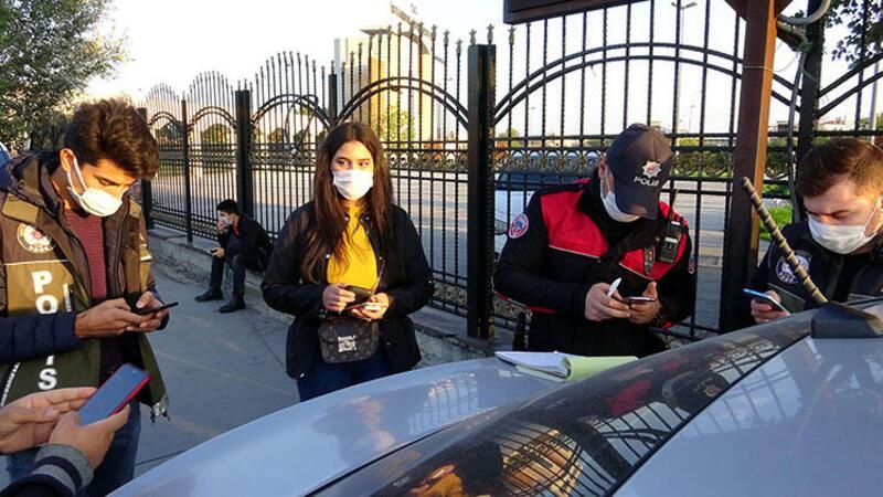 Avcılar'da maske ve sigara yasağını ihlal edenlere cezaları kesildi